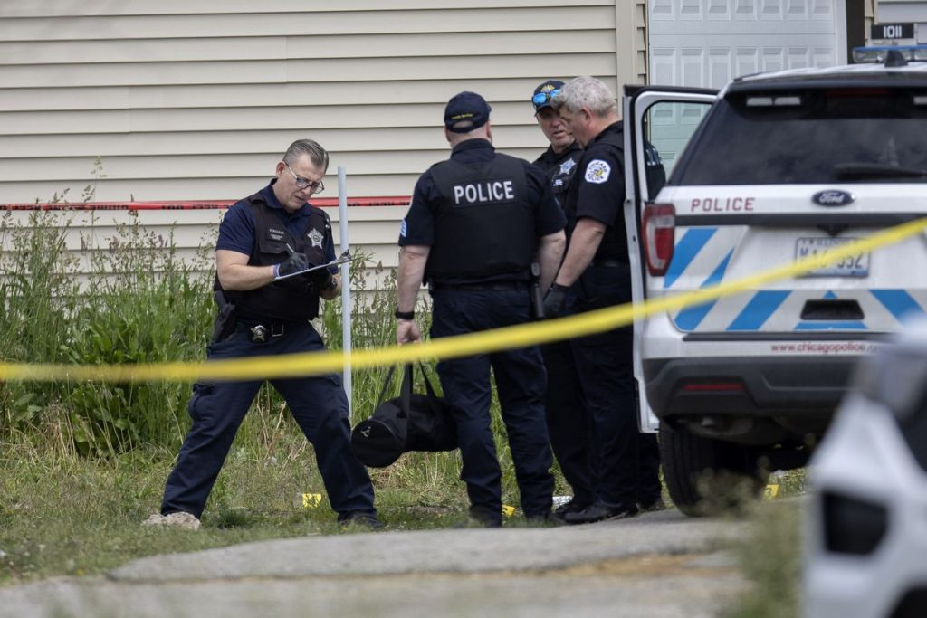 Man, 45, charged with attempted murder after 2 Chicago police officers shot