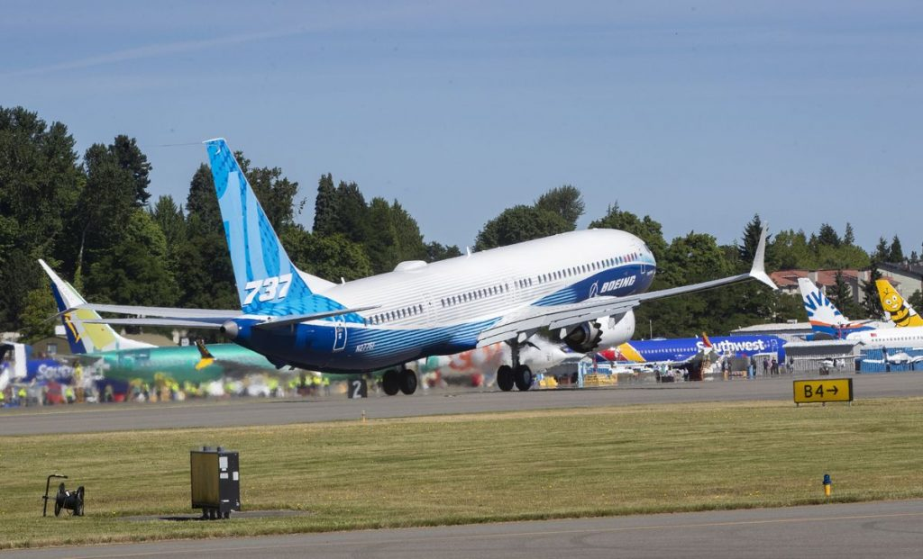 Newest, largest version of Boeing 737 Max makes first flight