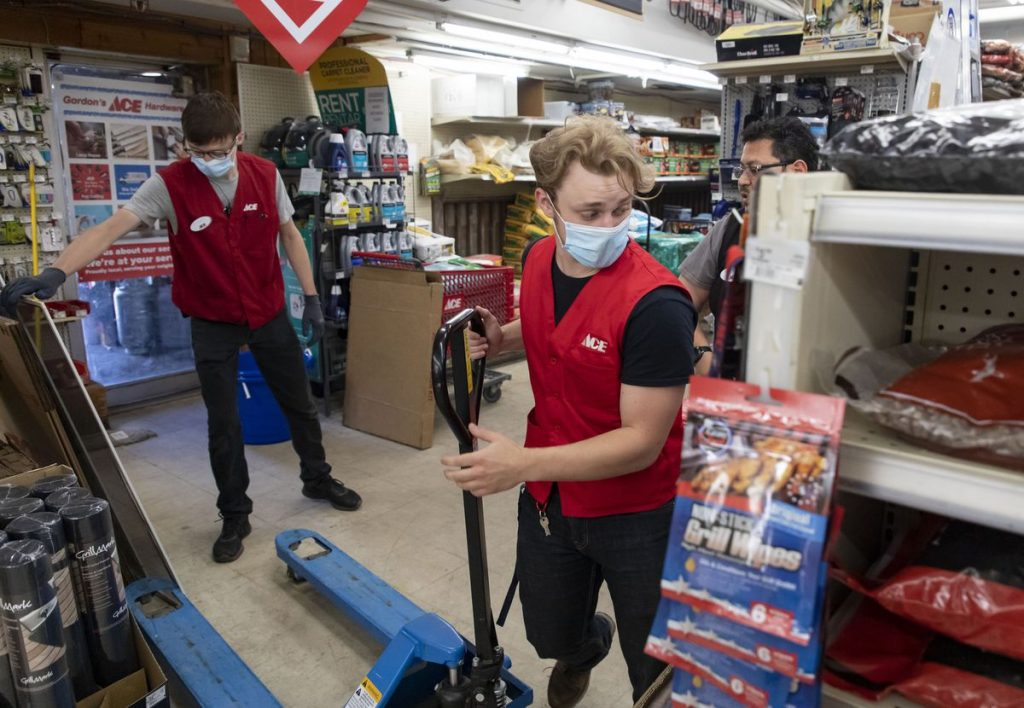 Facing a recovering economy and a shortage of workers, businesses are hiring teens this summer to keep up with demand