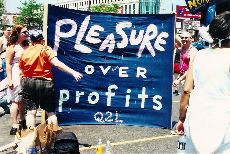 Q2L would raise hell against gentrification, the death penalty, homonormativity, and plenty more. - COURTESY THERESE QUINN